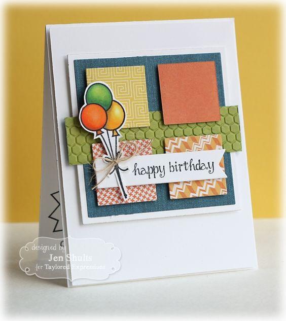 Happy Birthday by Jen Shults #Birthday, #Cardmaking