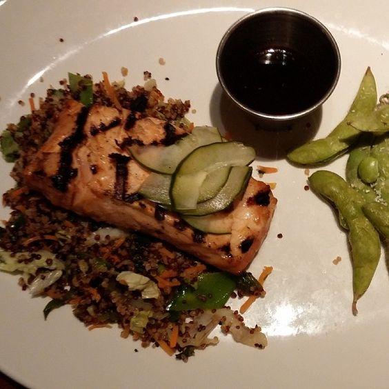 Miso Grilled Salmon   Photo by Instagram User debclembuckert #houlihans #SoEatingThis