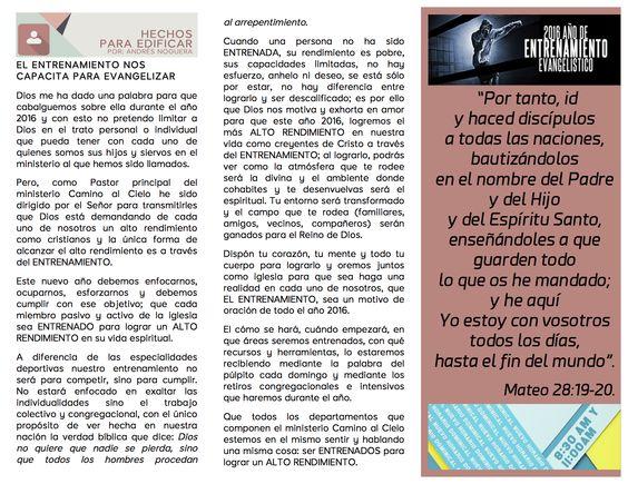Recibe hoy el #BoletínInformativoCaminoalCielo #Enero2016 II y disfruta del mejor contenido para tu edificación.