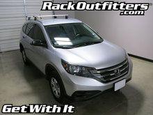 Honda CR-V Thule Rapid Podium SILVER AeroBlade Base Roof Rack '12-'14*