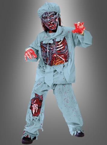 Zombie Doctor Kinderkostüm