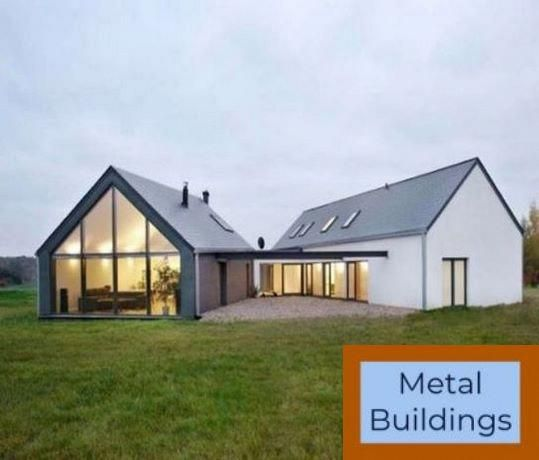 Prefabricated Metal Amp Amp Steel Buildings For Sale Get A Quote And Metal Buildings Square Feet Metal Buildings Custom Metal Buildings Metal Roof Houses