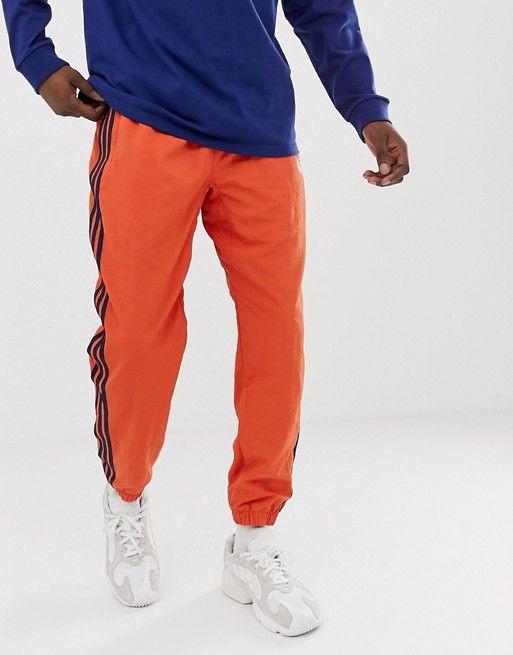 adidas Originals Joggers tissé à 3 bandes Orange