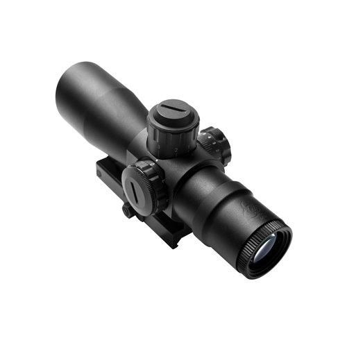 NcStar Zombie Stryke Rifle Scope Biohazard Reticle, 4 x 32-Inch, Black - $49.97 shipped (lightning deal)