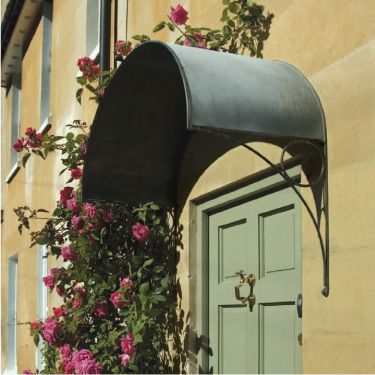 Lots Of Pics Of Awnings Metal Or Canvas Over Doors And
