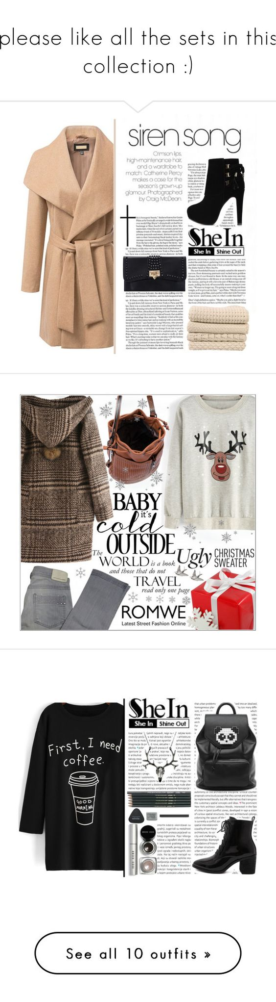 """""""please like all the sets in this collection :)"""" by yesanastasia1919 ❤ liked on Polyvore featuring Comptoir Des Cotonniers, Freddy, Bobbi Brown Cosmetics, Kendra Scott, Sara Designs, Toast, Roxy, NOVICA, Tory Burch and Del Gatto"""