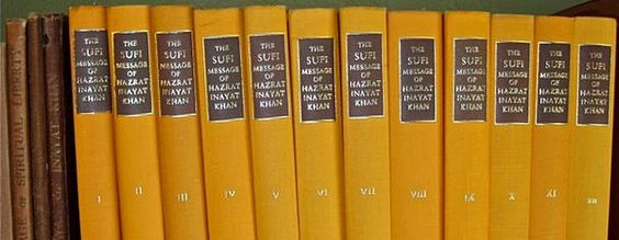 "Sufi Message Volumes - transcribed lectures by Inayat Khan bound into twelve books (""The Orange Volumes"")"