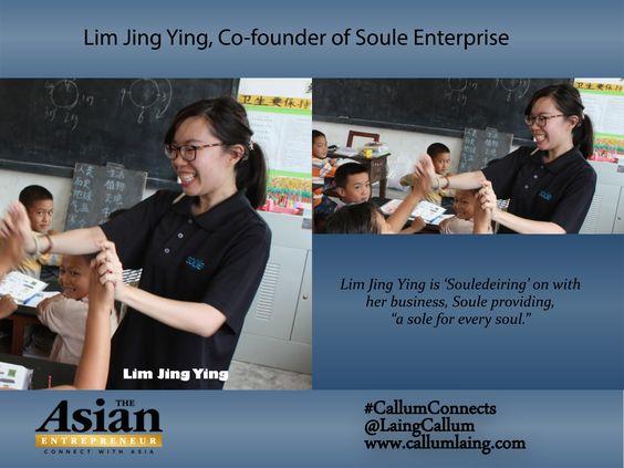 Lim Jing Ying, Co-founder of Soule Enterprise