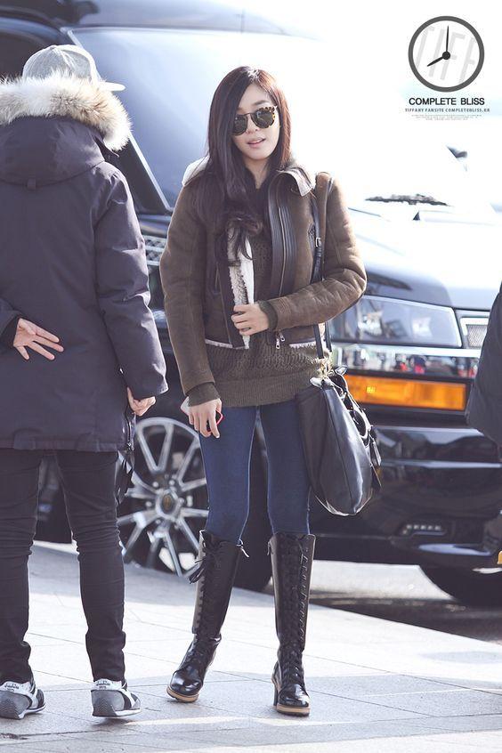 [140103] Tiffany at Incheon Airport To Italy