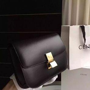 celine classic box bag black