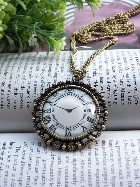 Watch Necklace ~ toofashion2010's shop.