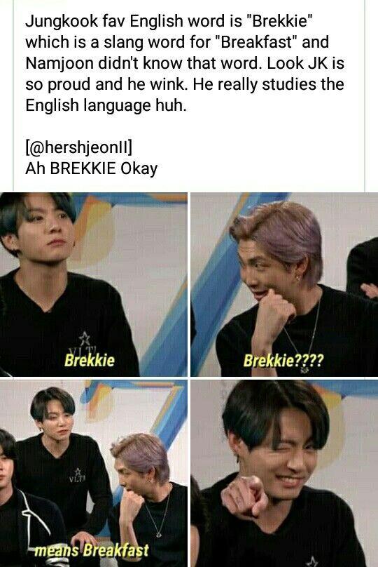 Pin By Mochi On Bts Memes Jungkook Slang Words Bts Memes