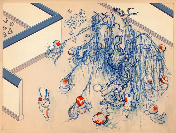 The Willow Tree I - James Jean