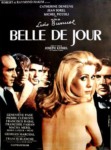 Belle de Jour: Best Ever French Films: Top ten French movies of all time, via George Makhoul