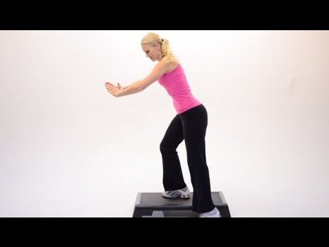 38 minute step aerobics workout. Great workout!! Just got done. ;-)
