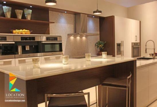 كتالوج صور مطابخ حديثة مطابخ مودرن مطابخ ريفية بسيطة لوكشين ديزين نت Decor Home Decor Breakfast Bar