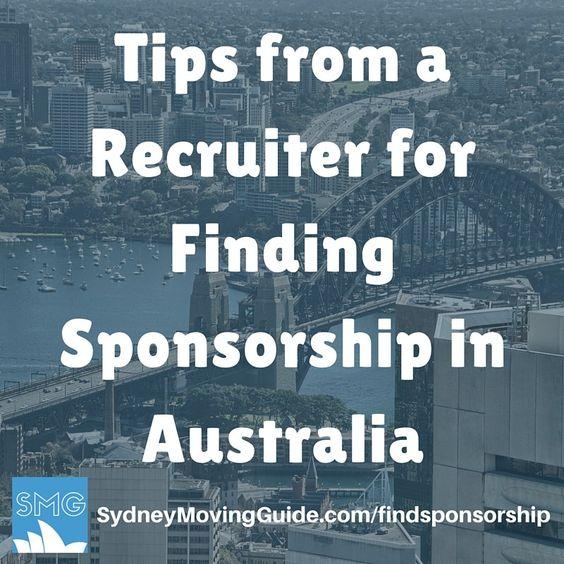 Tips from a Recruiter for Finding Sponsorship in Australia