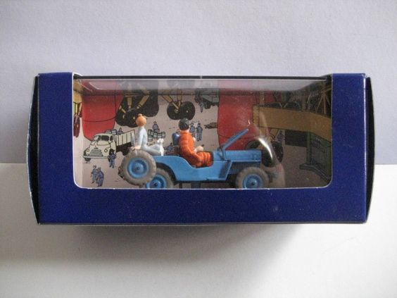 Tintin voiture objectif lune