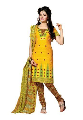 Fabdeal Indian Designer Pure Cotton Yellow & Maroon Printed Salwar Fabdeal, http://www.amazon.co.uk/dp/B00IRBAARC/ref=cm_sw_r_pi_dp_iDNntb1WMP37P