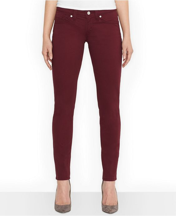 Levi's® Juniors' 524 White-Tab Skinny Jeans - Juniors Jeans - Macy's