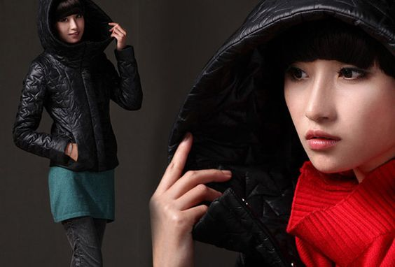 Petite puffer jacket. $83 #outerwear #clothes #jackets #coats
