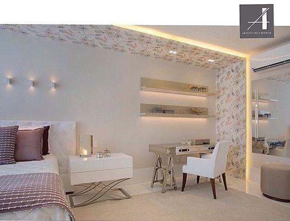 WEBSTA @ inspirandoepirando - Vamos descansar que amanhã é sexta!!!!! Boa noite, pessoal!!! 💤💤💤 Foto do IG @claudia_pimenta. #inspirandoepirando #decor #decoration #decorating #design #designer #interiordesign #instadesign #home #instadecor #instagood #instahome #architecture #architecturelovers #love #homedecor #homesweethome #house #mirror #luxury #photooftheday #follow #archidaily  #interior #inspiration #bed #bedroom #light #amazing #goodnight