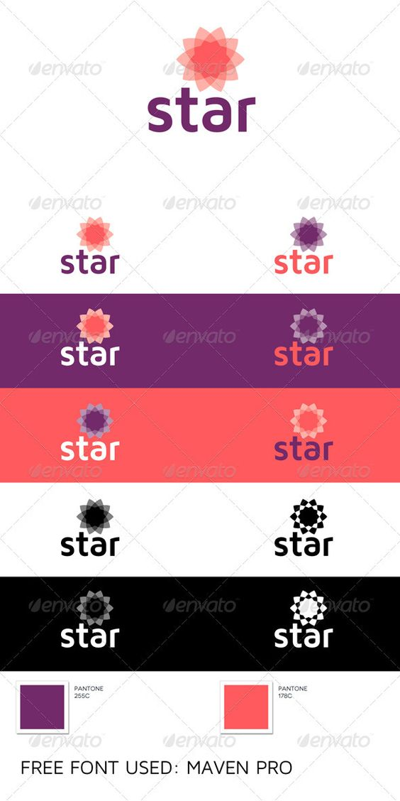 Star  Logo Design Template Vector #logotype Download it here: http://graphicriver.net/item/star-logo/529092?s_rank=326?ref=nexion