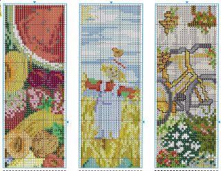 Atelier Colorido PX: Marcadores de livros... paisagens!