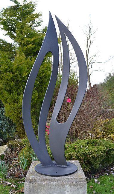Metallskulptur Fur Garten Kunst Fur Draussen Gartenschmuck Metall Gartenskulpturen Metallkunst Skulptur Metallskulptur