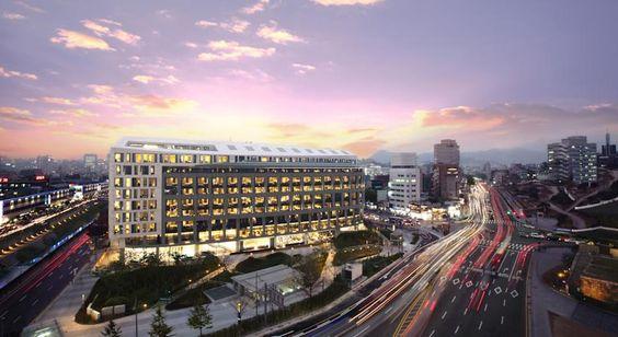 Một khu khách sạn hạng sang ở Hàn Quốc