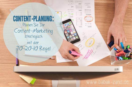 Planen Sie Ihren Content mit der 70-20-10 Regel und lernen Sie, wie Sie mit dieser Methode Ihre Content-Planung strategisch ausrichten können.