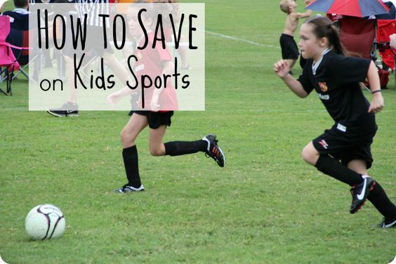How to Save on Kids Sports - on www.time2saveworkshops.com #save #sports