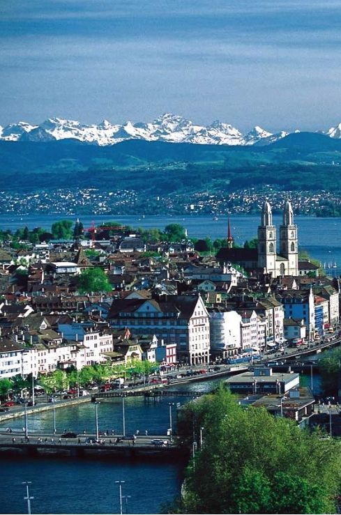 Zurich, Switzerland ,one of the oldest cities , from Iryna