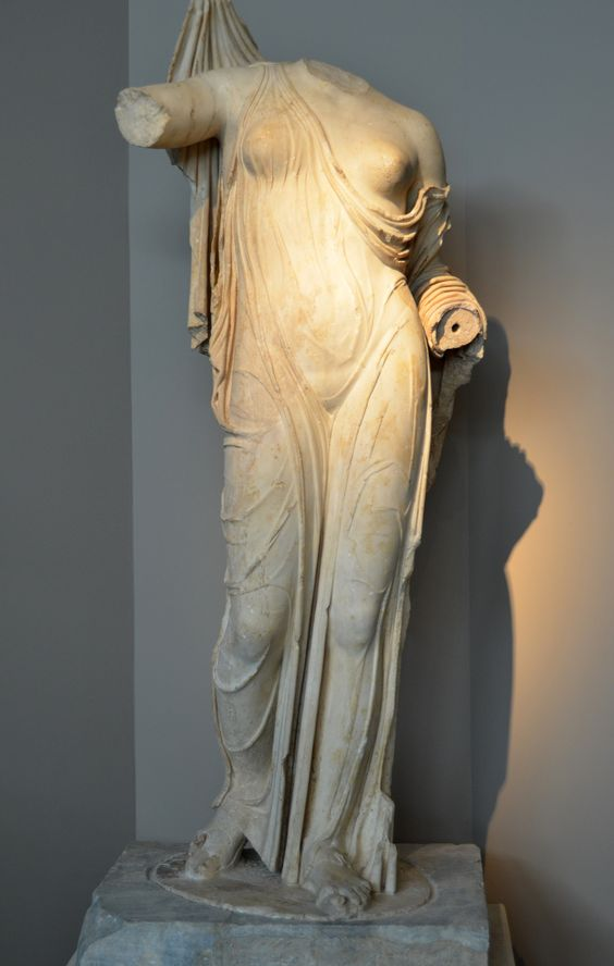 Statue of Aphrodite, 1st-2nd cent. CE, Thessaloniki Archeology Museum