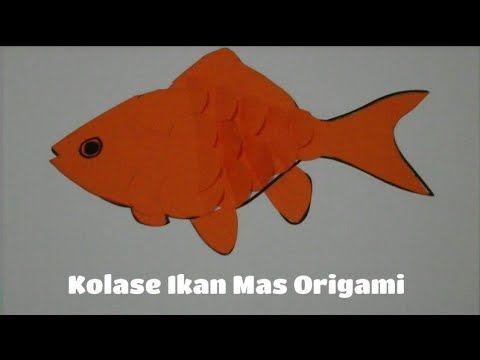 90 Contoh Kolase Ikan Dari Kertas Terbaik Origami Kolase Gambar
