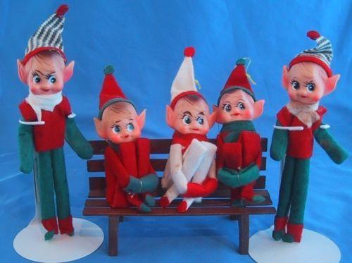 Vintage ornaments Japan elf