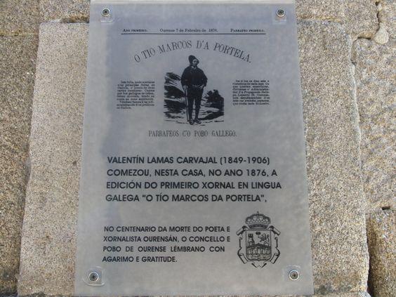 Valentín Lamas Carvajal from Ourense