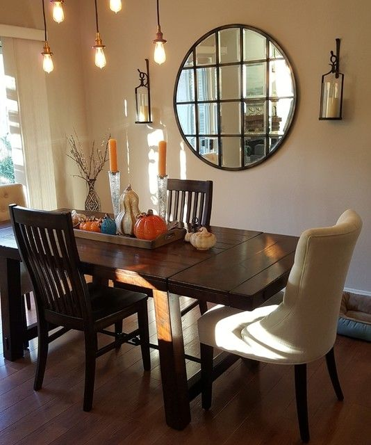 Eagan Multipanel Round Wall Mirror 44 Oversized Chair Living Room Scandinavian Dining Chairs Dining Table Chairs