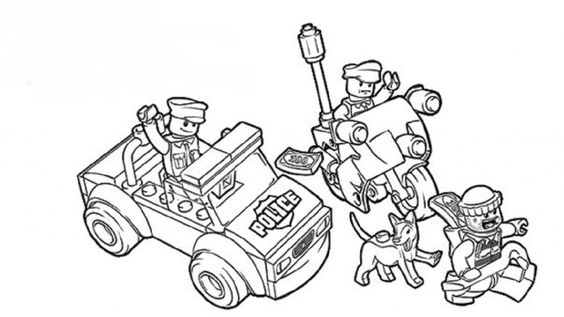 lego coloring pages police | Movie | Pinterest | Lego ...