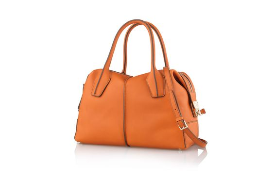 I don't care if it matches the rest of my outfit or not.  Everyone needs an orange purse!  This fancy one is from Tod's