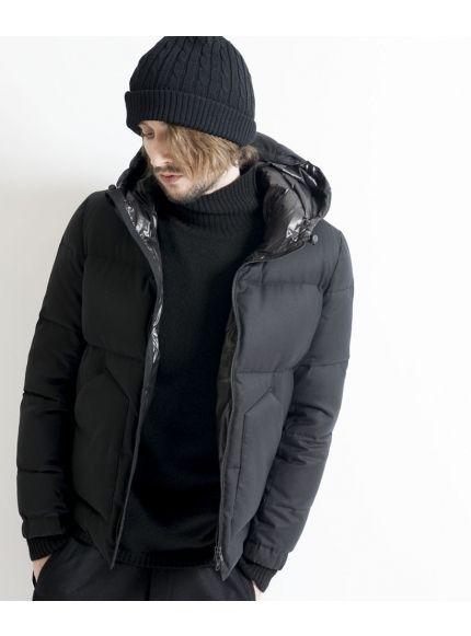 YAK Boyle knit turtleneck 詳細画像 Black 7