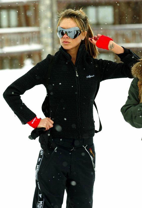 agradable Como vestirse para esquiar 10 mejores conjuntos
