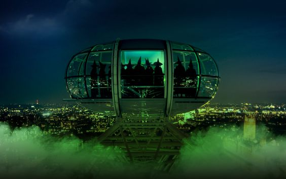 London Eye is a must do at night!