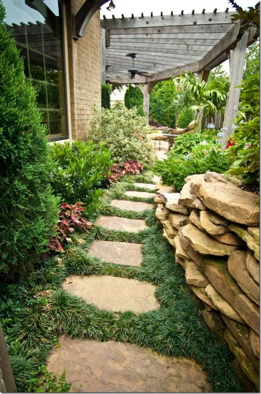 Side yard landscaping ideas.Cote de Texas | Landscapes | Pinterest