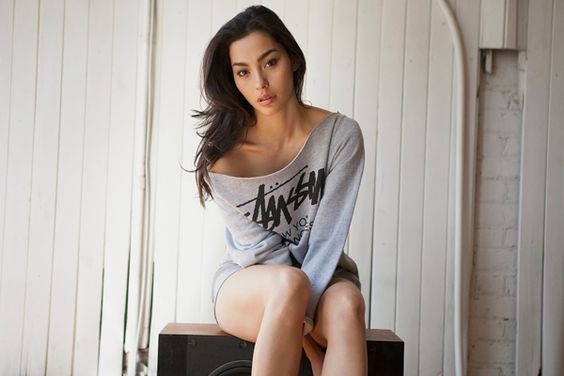 Adrianne Ho... Oh, and the Stussy SS13 Lookbook