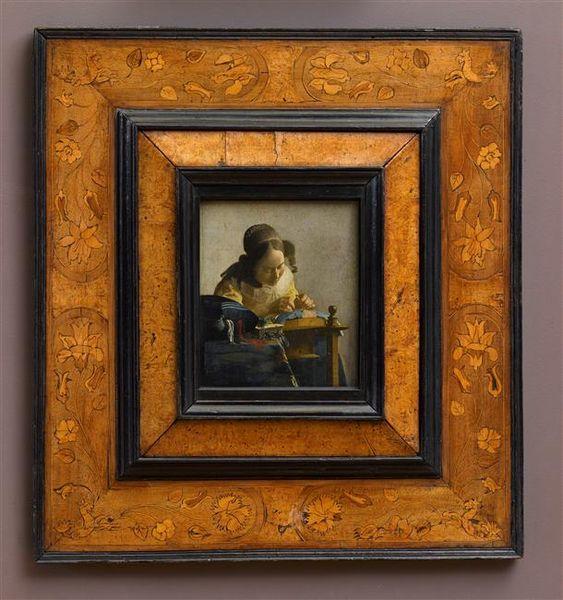 La Dentellière Vermeer Johannes (Belgica 1632-1675) Paris, musée du Louvre