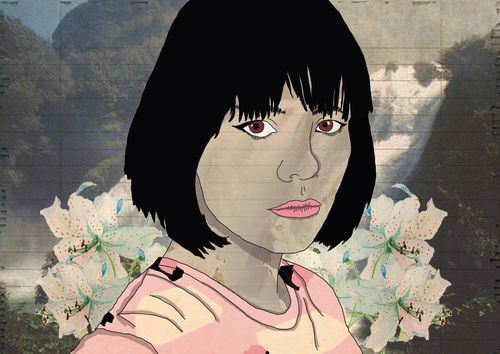 LUCAS EME A Bat for Lashes Mixed Media.