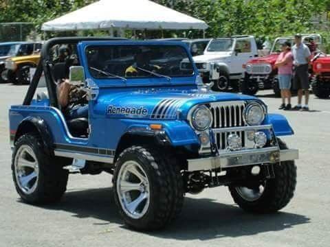 Pin By Guinevere Quan On Jeep Cj5 Golden Eagle Renegade Laredo Jeep Cj Jeep Cj5 Blue Jeep