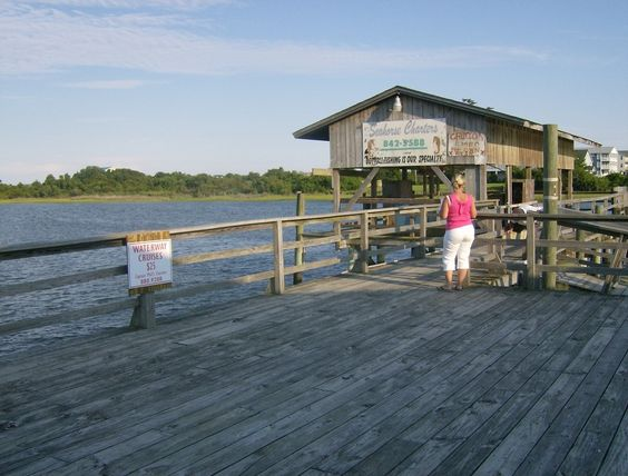 Cas places and the o 39 jays on pinterest for Holden beach fishing pier