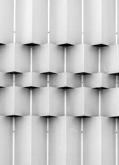 Hard Textures - repeating patterns in architecture like woven textiles design